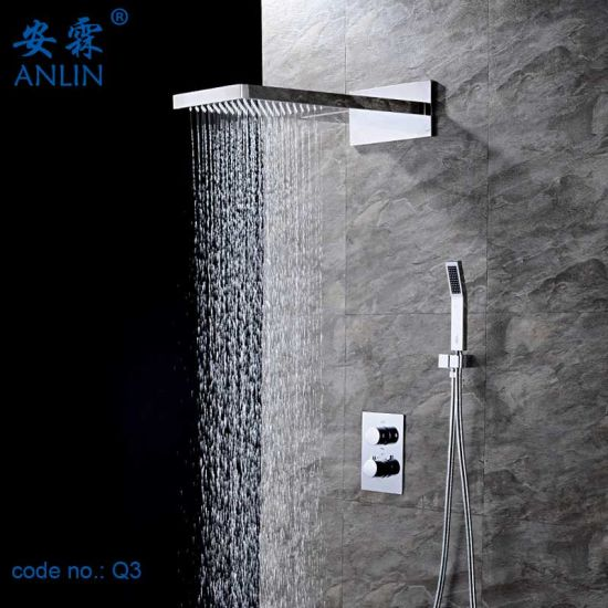 Bathroom Wall Mounted Thermostatic Shower